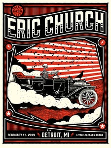 Image of Eric Church Detroit 02/15/19