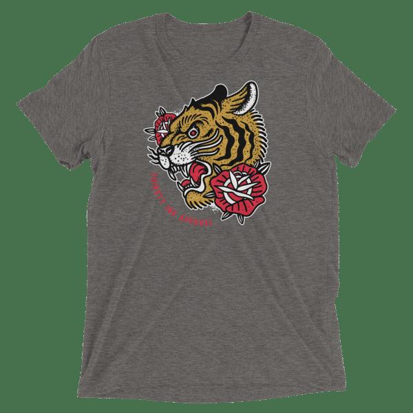 Image of Rawr. Grey Triblend T-shirt