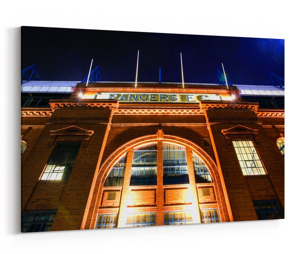 Image of Ibrox Stadium Photograph on Canvas