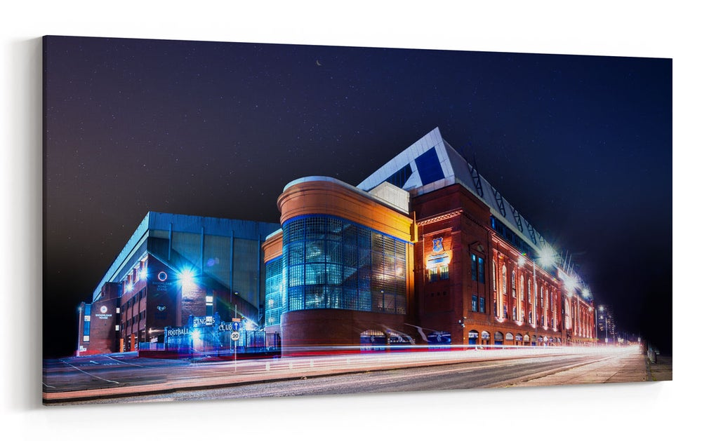 Image of Ibrox at Night