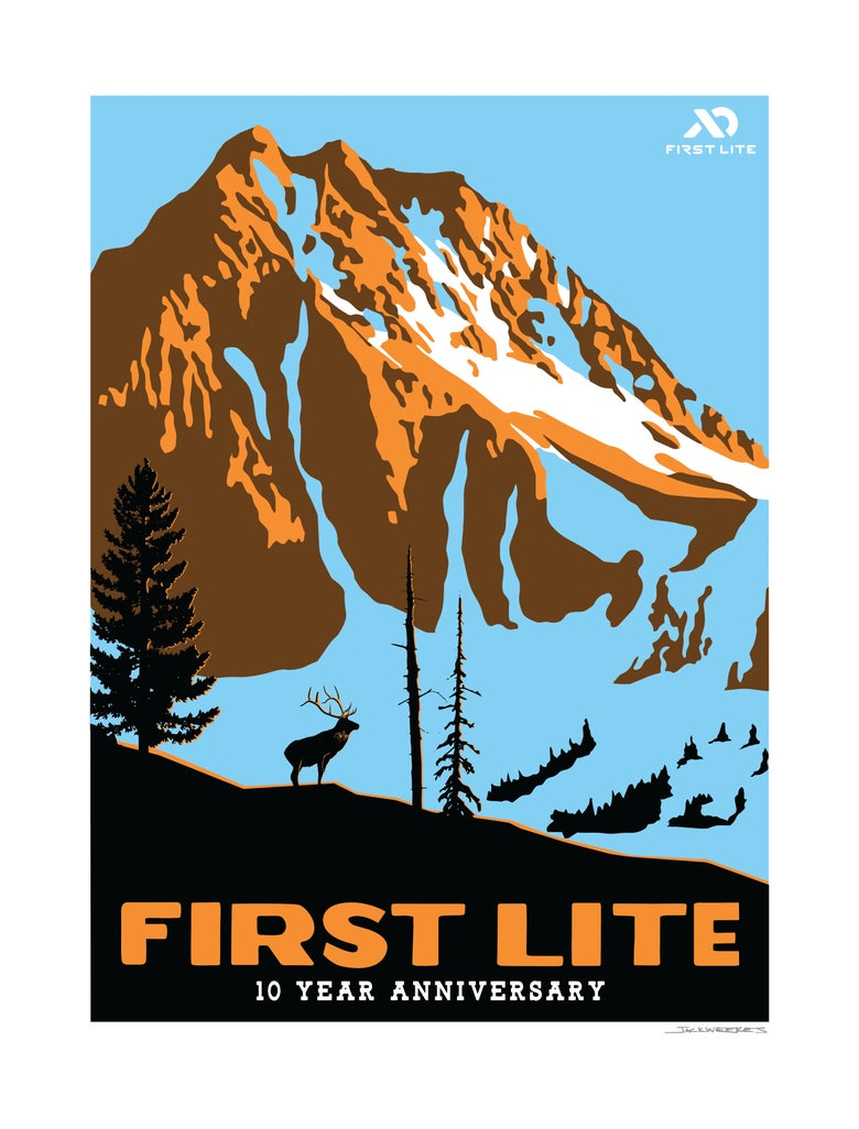 Image of FIRST LITE 10TH ANNIVERSARY PRINT