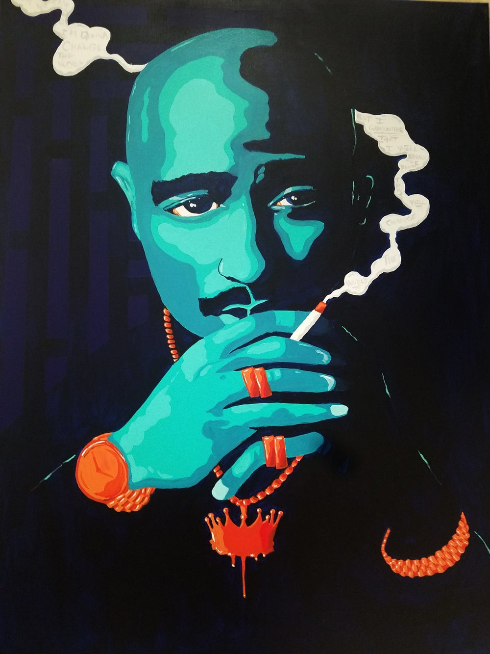 "Image of 2Pac ""All Eyez on Me"" 11x17 print"