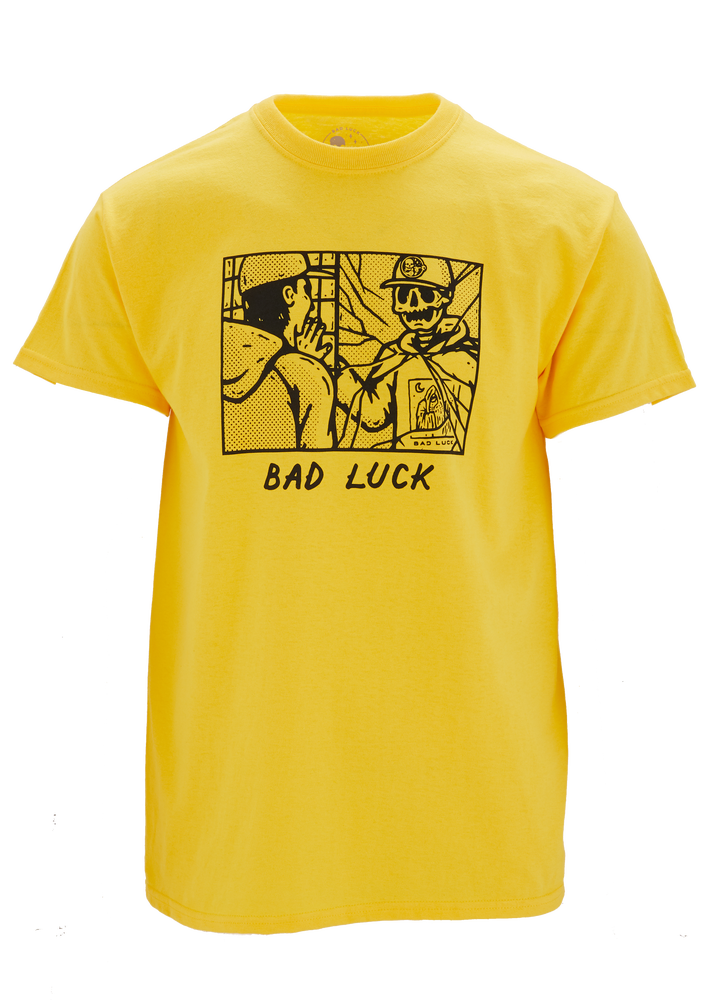 Image of Bad Luck Yellow Tee