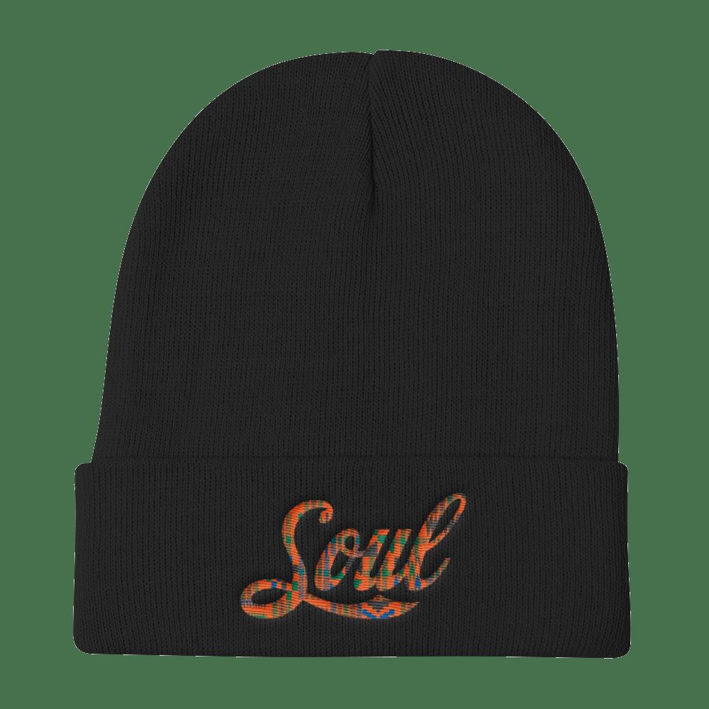 Image of Soul beanie (black/kente)