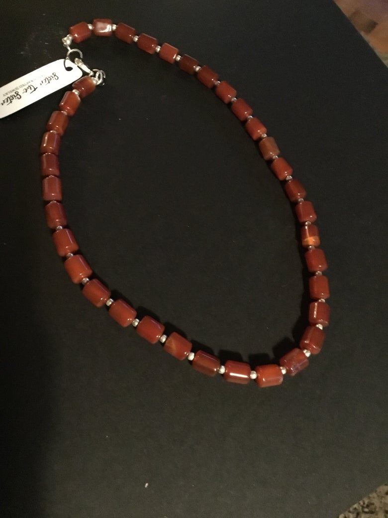 Image of Red Agate Stone