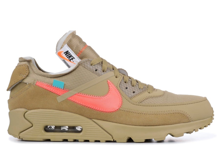 "Image of The Ten: Nike Air Max 90 x ""OFF-WHITE"" Desert Ore"