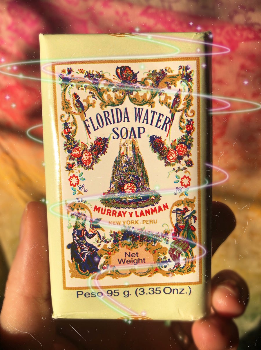 Image of Florida Water Soap from the Peruvian Countryside
