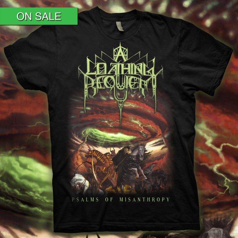 Image of A LOATHING REQUIEM - Psalms T-Shirt