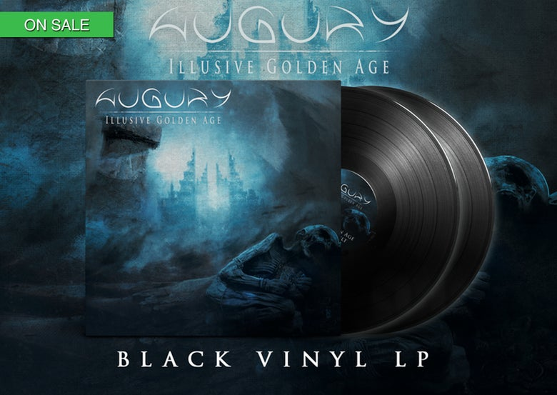 Image of AUGURY - Illusive Golden Age - BLACK DOUBLE LP