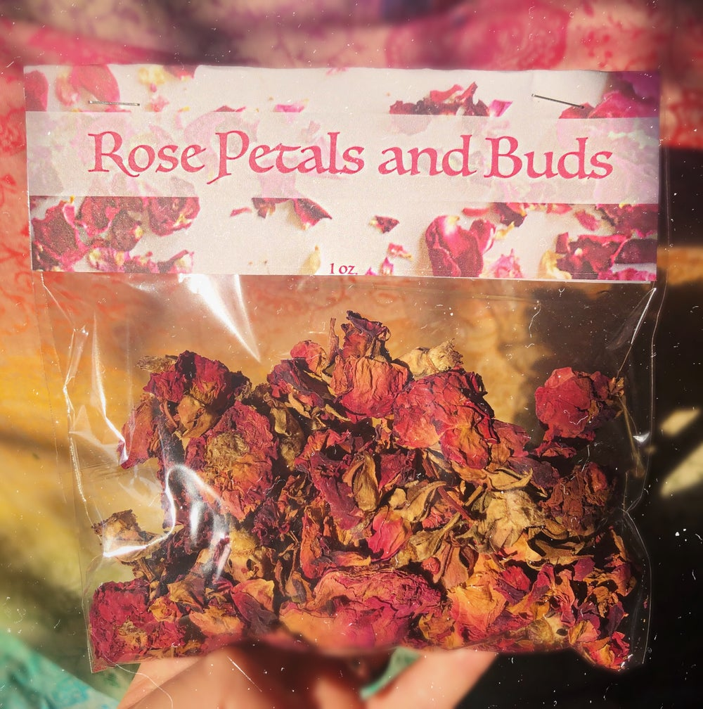 Image of High Grade Rose Petals and Buds