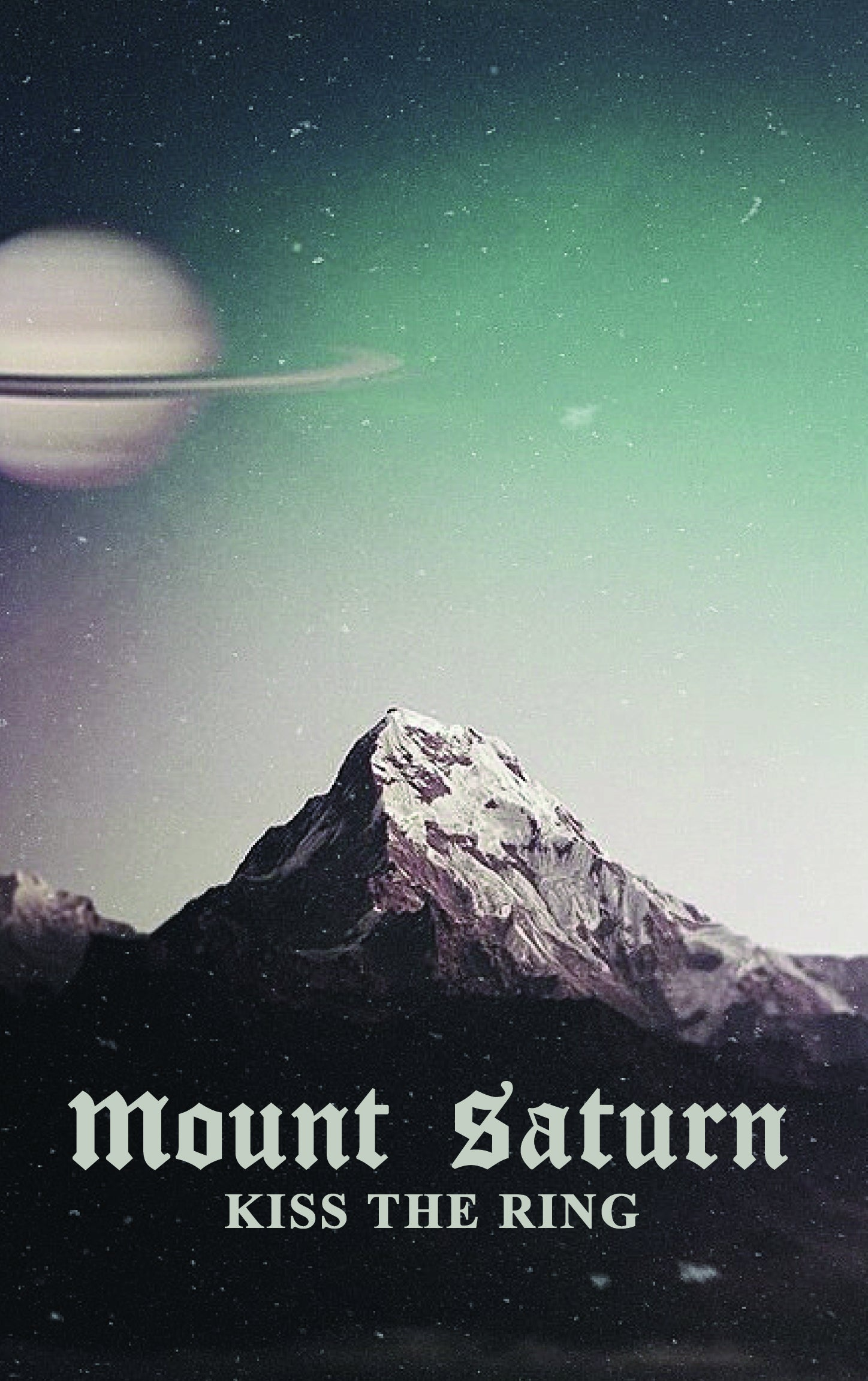Image of Mount Saturn Kiss the Ring EP Cassette