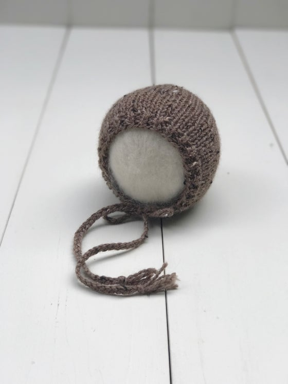 Image of Tweed Bonnet - Chestnut