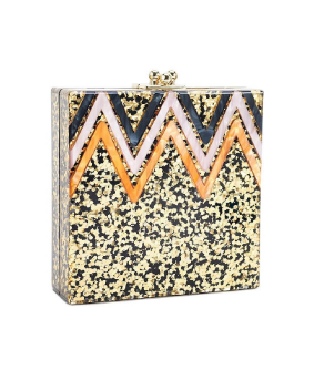 Image of Confetti Acrylic Purse