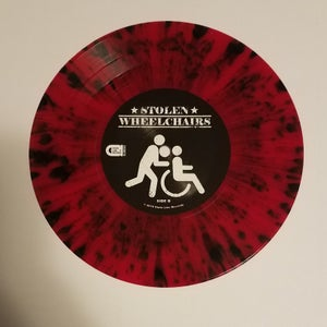 Image of Stolen Wheelchairs - Out of Steps 7""