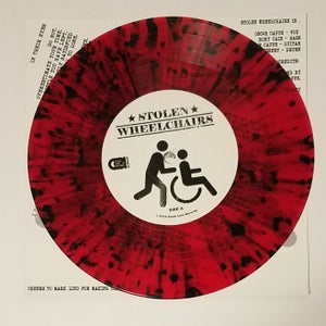 "Image of Stolen Wheelchairs - Out of Steps 7"" (NEW STATE LINE RELEASE)"