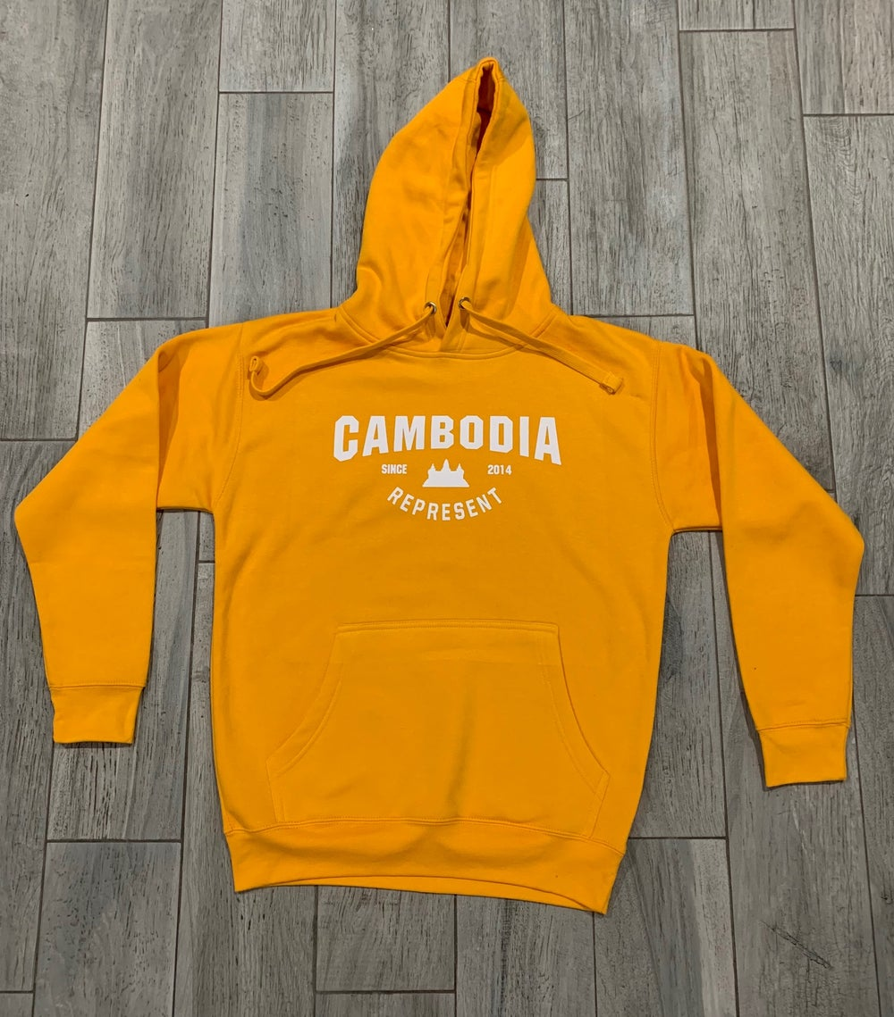 Image of Cambodia Represent Hoodie