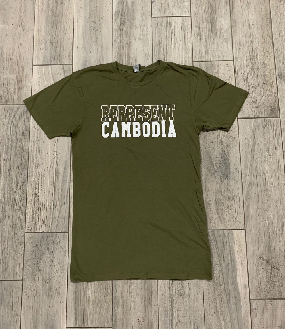 Image of REPRESENT CAMBODIA BOLD OUTLINE TEE
