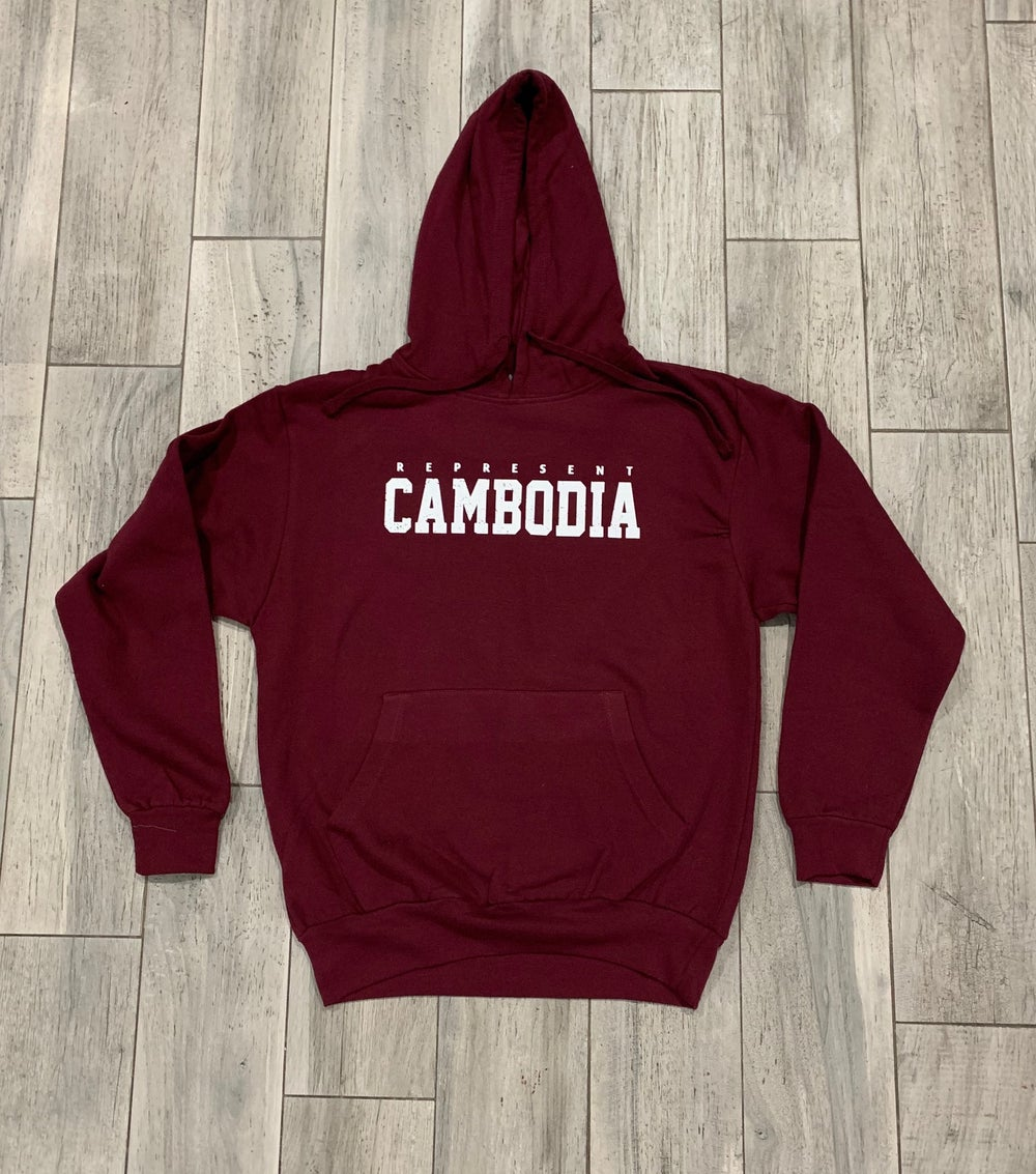 Image of REPRESENT CAMBODIA DISTRESS HOODIE