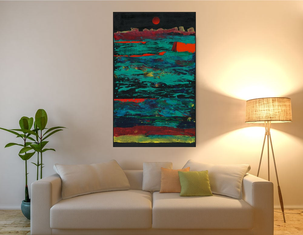 "Image of ""Storm Surge"" Canvas Print"