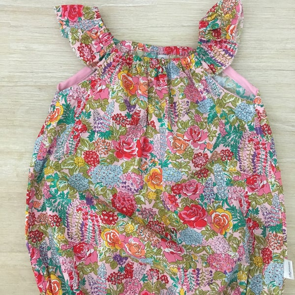 Image of Grace floral romper