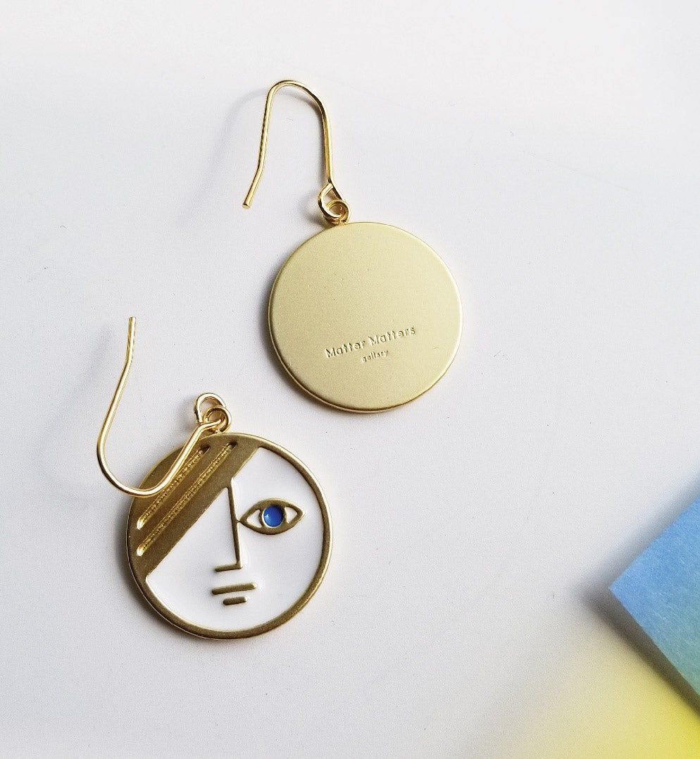 Image of Mini Phase Earrings • Stain Stainless steel