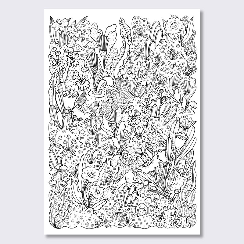 Image of Coloring Poster