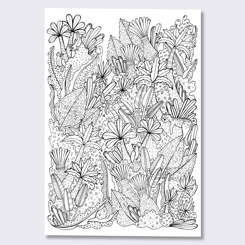 Image of Coloring On The Go