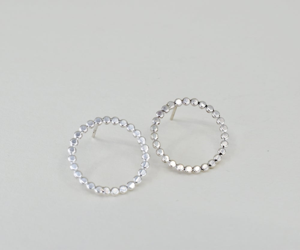 Image of Dotty Circle Studs