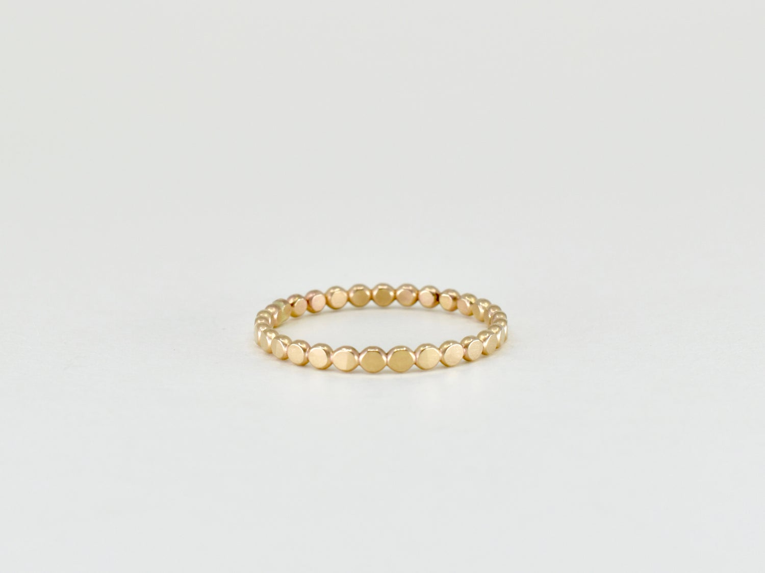 Image of Dotty Stack Ring 14k Gold Filled