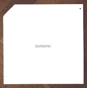 Image of Various - Cutout01 - LP (Augenringe Unter Dem Dritten Auge Records)