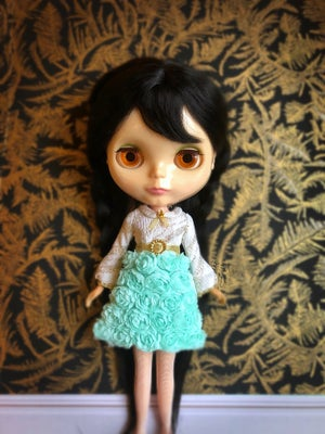 Image of LoungingLinda Rosebud Dress ~ Mint