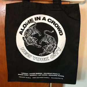 Image of Alone In A Crowd Tote Bag