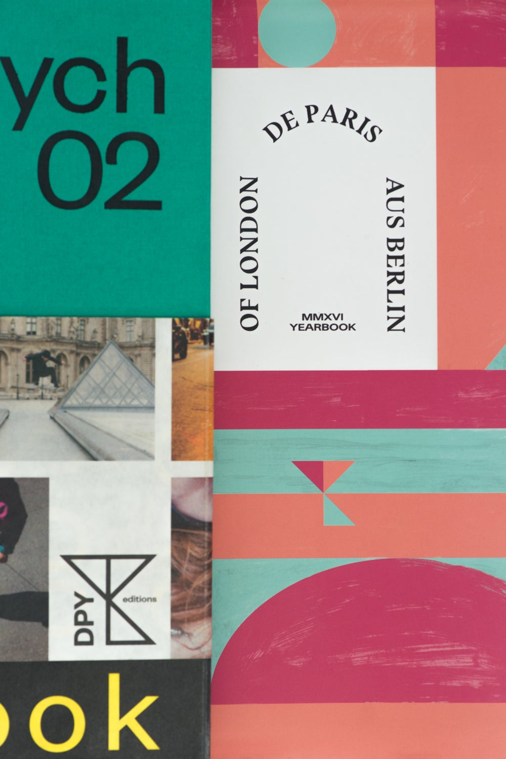 City Triptych Yearbook Pack