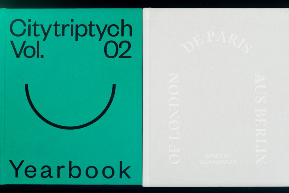Image of City Triptych Yearbook Pack