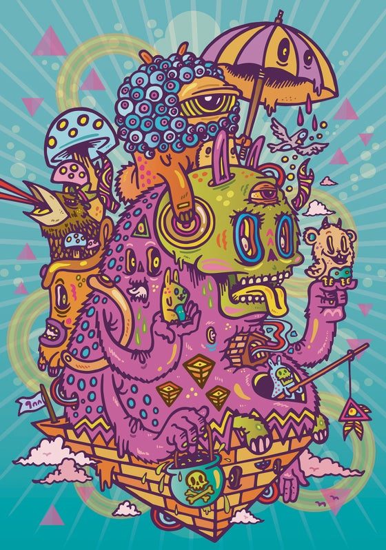 Image of Within Your Thoughts - Limited Edition Giclee Print
