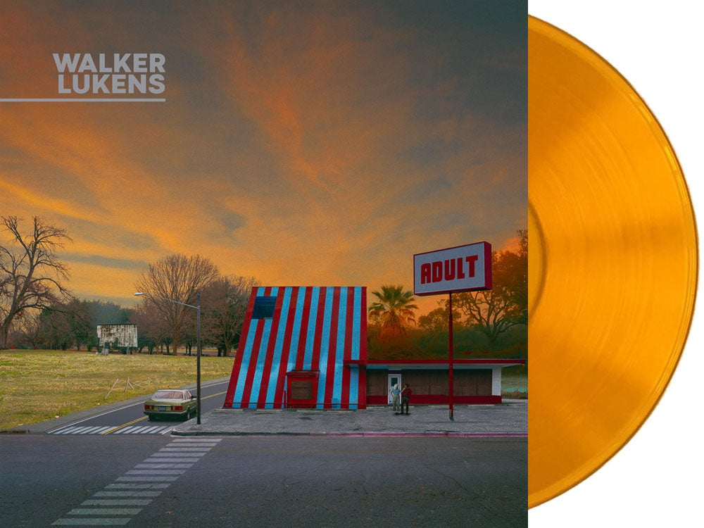 Image of Walker Lukens - ADULT LP (Autographed Pre-Order) + Ltd. Edition Postcard