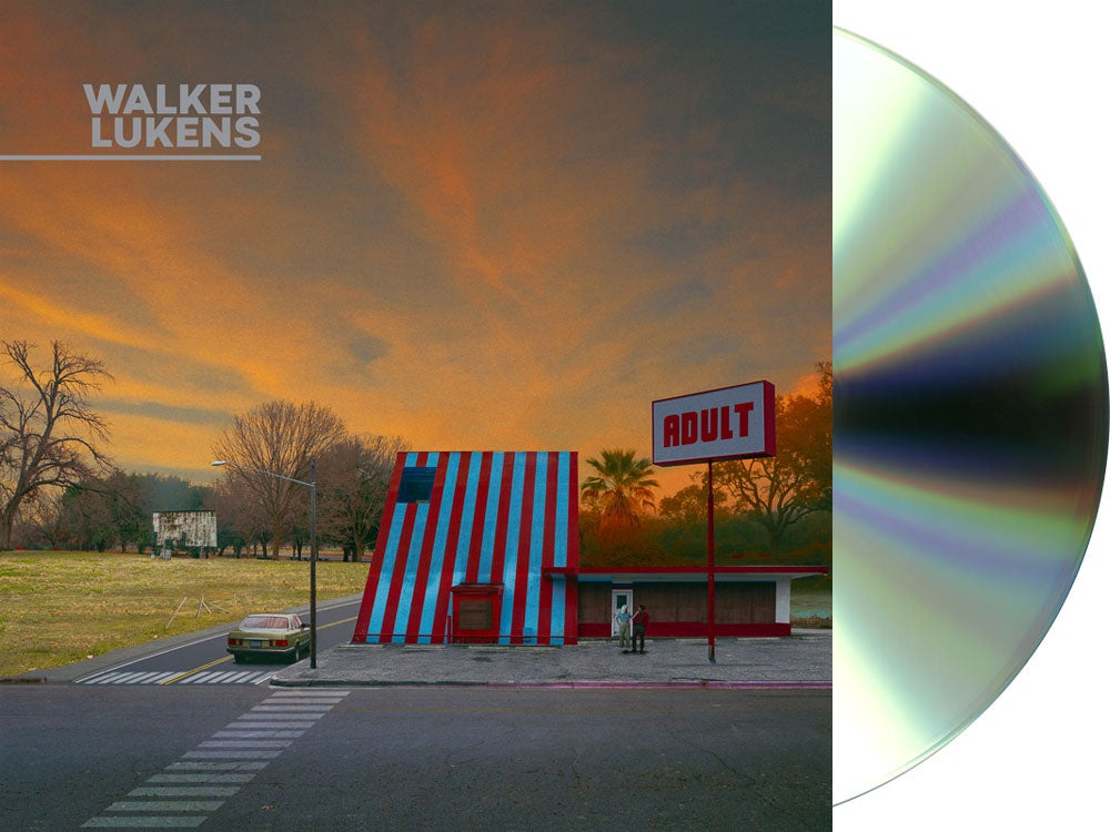 Image of Walker Lukens - ADULT CD (Autographed Pre-Order) + Ltd. Edition Postcard