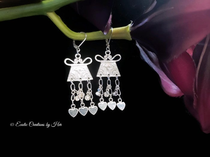 Mini Amulet Chandelier Earring