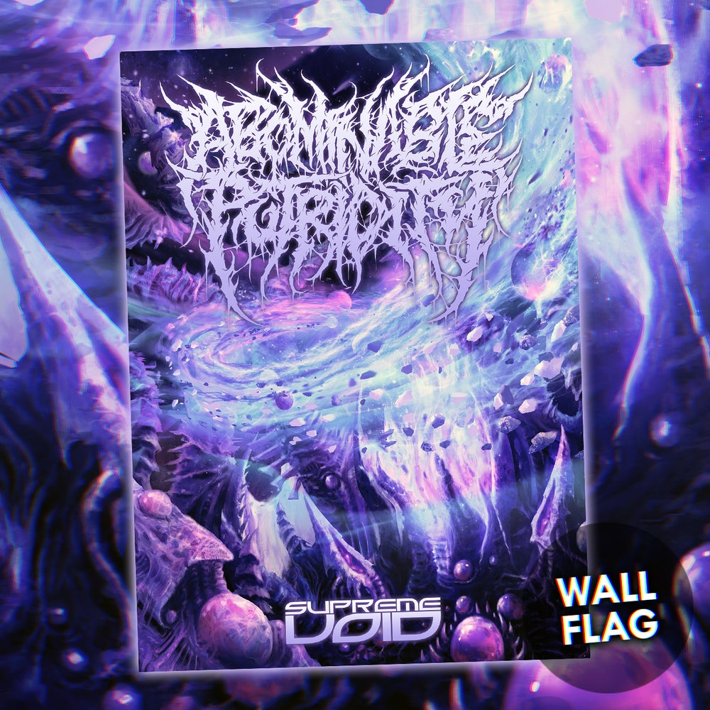 Image of Abominable Putridity - Supreme Void - Flag