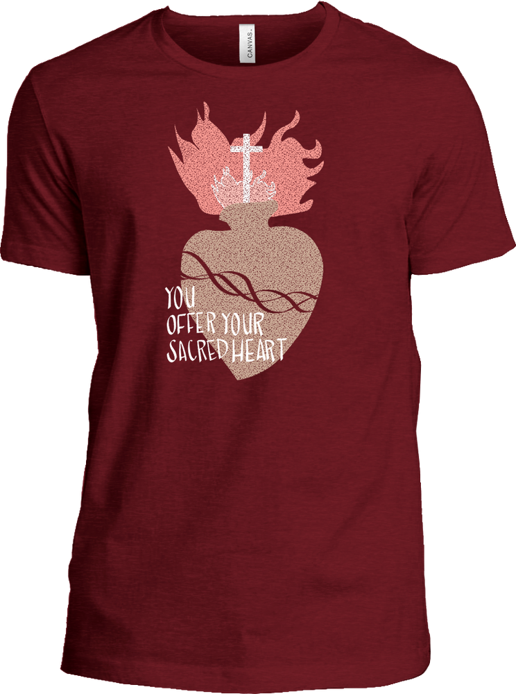 Image of NEW Sacred Heart T-shirt