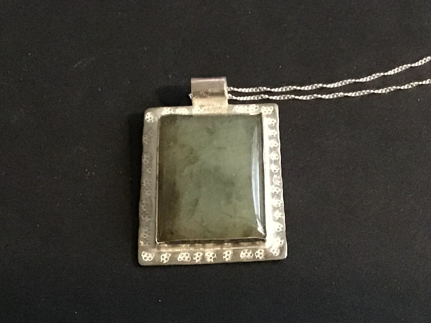 Image of Labadorite necklace in Sterling Silver Setting