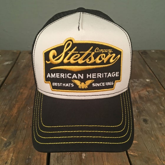 "Image of STETSON MESH CAP ""EAGLE"""