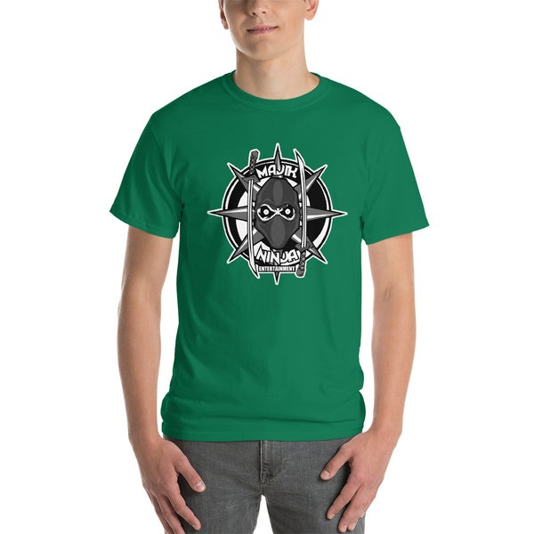 Image of MNE Logo Shirt Green