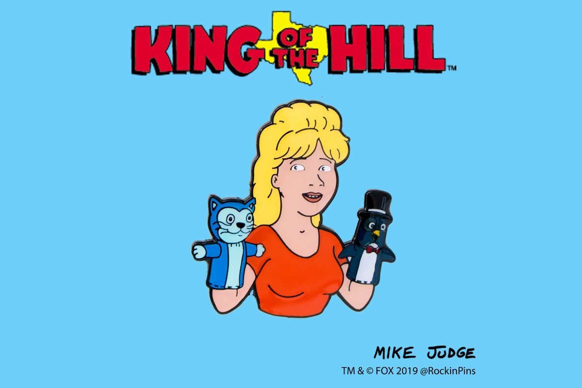 Image of King of the Hill - Manger Babies Enamel Pin