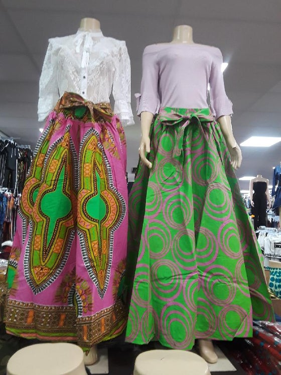 Image of Africana skirts