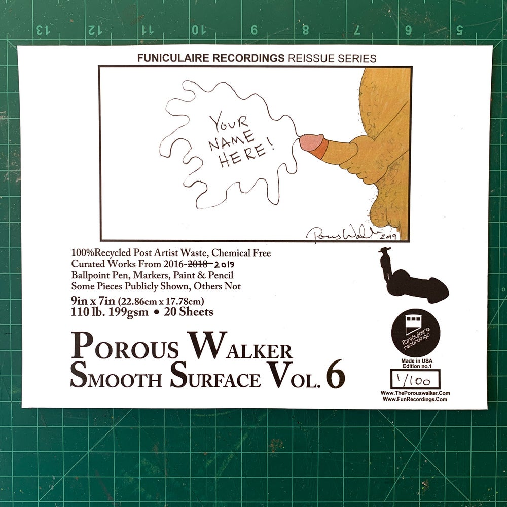 Image of Porous Walker smooth surface vol. 6 plus FREE GREEN DONGZ SOX