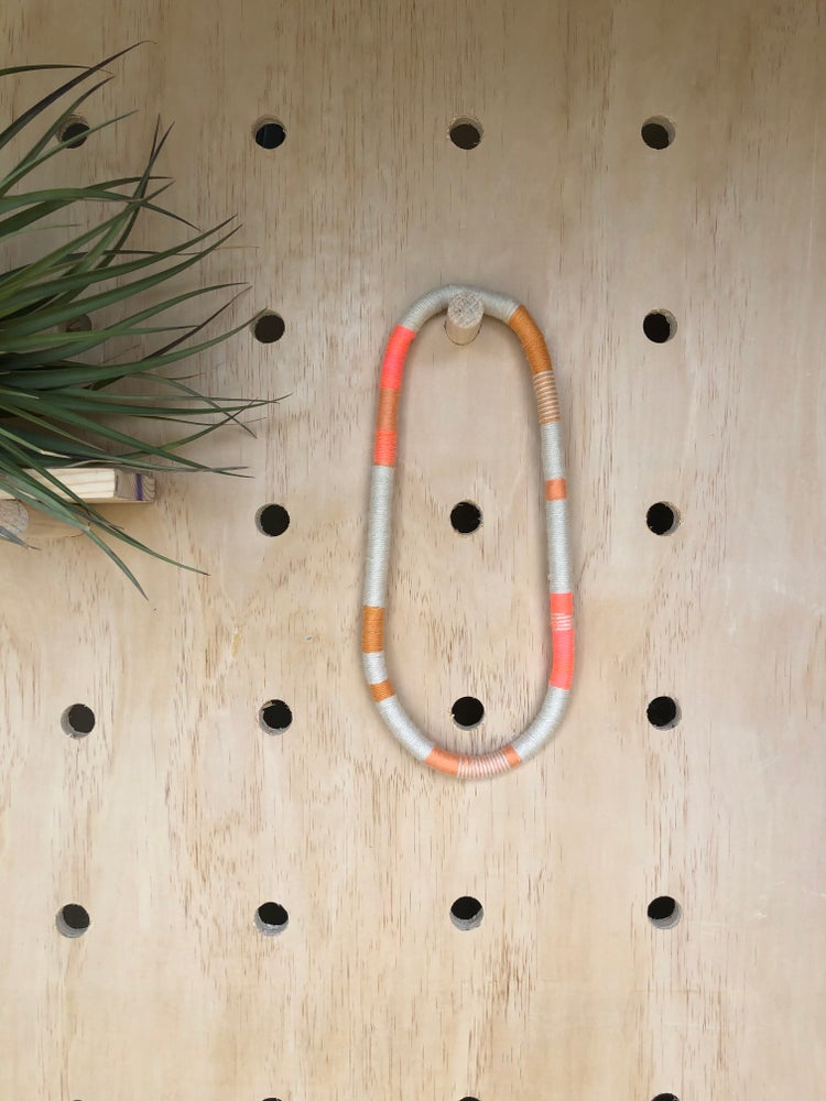 Image of Wrapped Rope Necklace - Single