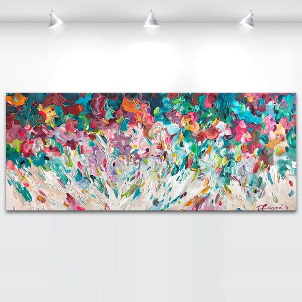 Image of Ros flores - 150x60cm