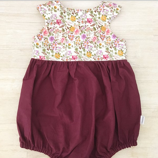 Image of Elsa two toned playsuit
