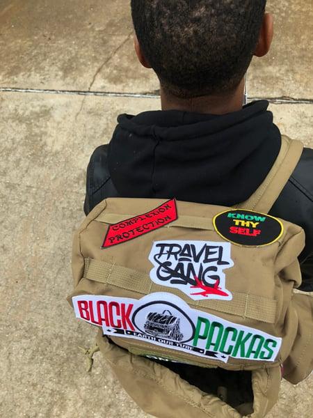 Image of Hergy  small  BlackPackas Bag